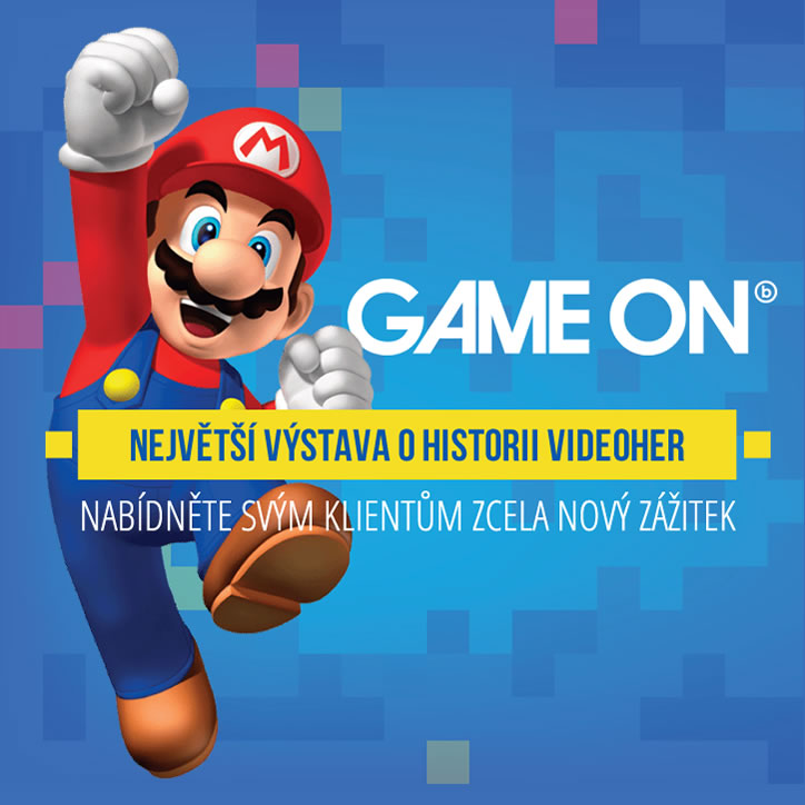 Výstava Game-on