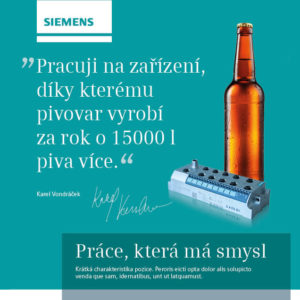 Siemens Náborová kampaň na vývojáře